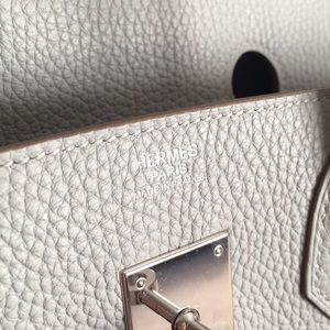 776af873b0a Hermes Bags   30 Birkin Light Gray   Poshmark